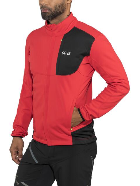 GORE WEAR C5 Windstopper Jacket Men red